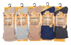 Mens thermal 12 pair assorted colour winter scoks MN269585